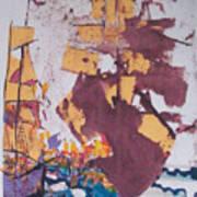 Fighting Ships Art Print