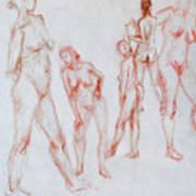 Figure Five Art Print
