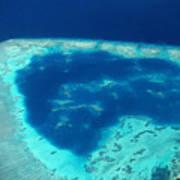 Fiji Aerial Art Print