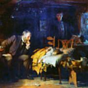 Fildes The Doctor 1891 Art Print