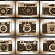 Film Camera Proofs 2 Print by Mike McGlothlen