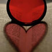 Filter Heart 2 Art Print