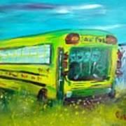 Final Bus Stop  Art Print by Steve Jorde