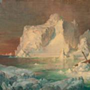 Final Study For The Icebergs Art Print