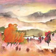 Finca In Spain Art Print