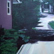 Findley Alley Art Print