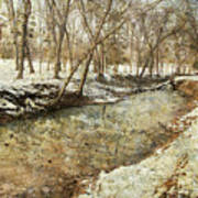 Fine Creek Winter Art Print