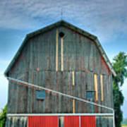 Finger Lakes Barn Iv Art Print by Steven Ainsworth
