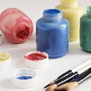 Finger Paint Art Print