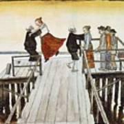 Finnish Symbolist Painter Art Print
