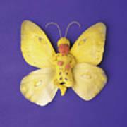 Fiona Butterfly Art Print