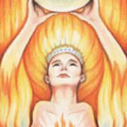 Fire - The Elements Art Print