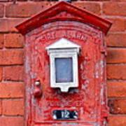 Fire Alarm Box No. 12 Art Print