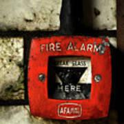 Fire Alarm Art Print