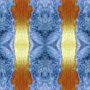 Fire And Ice - Digital 1 Art Print
