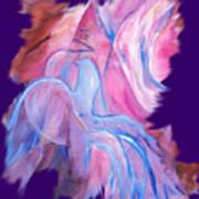 Fire Bird Digital Art Print