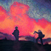 Fire Crew Art Print