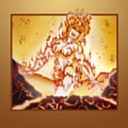 Fire Elemental Art Print