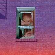 Fire Escape Window 2 Art Print