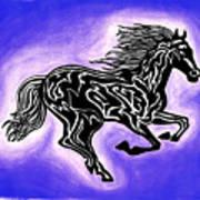 Fire Horse 2 Art Print
