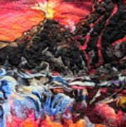 Fire Art Print by Kimberly Simon