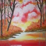 Fire Of God Art Print