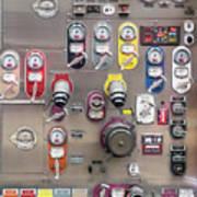 Fire Truck Controls Art Print