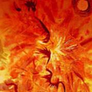 Firebrand Art Print