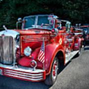 Fireman - 1949 And It Still Runs  Art Print