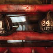 Fireman - A Salute To The Firefighter Art Print
