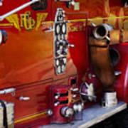 Fireman - Engine No 2  Art Print