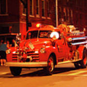 Fireman's Parade No. 3 Art Print