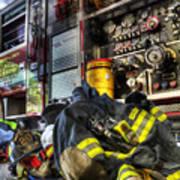 Firemen Always Ready For Duty - Fire Station - Union New Jersey Art Print