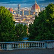 Firenze Vista Art Print