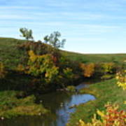 Firesteel Creek Autumn Art Print