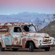 Firestone Truck Art Print