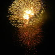Fireworks-1 Art Print