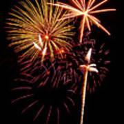 Fireworks 1 Print by Michael Peychich