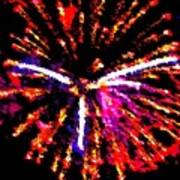 Fireworks 102 Art Print