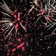 Fireworks 2018 Art Print