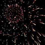 Fireworks 3 Art Print
