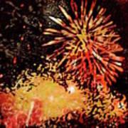 Fireworks 4 Art Print