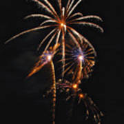 Fireworks 5 Art Print