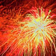 Fireworks 6 Art Print