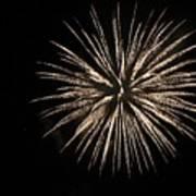 Fireworks 9 Art Print