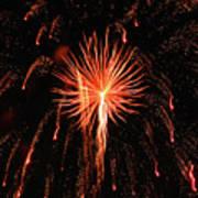 Fireworks Eighteen Art Print