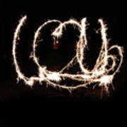 Fireworks Fun Print by Richard Mitchell