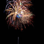 Fireworks IIi Print by Christopher Holmes