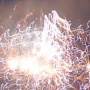 Fireworks In The Park 6 Art Print