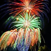 Fireworks No.1 Art Print